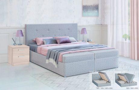 Кровать с подъёмным механизмом Дуэт Боннель