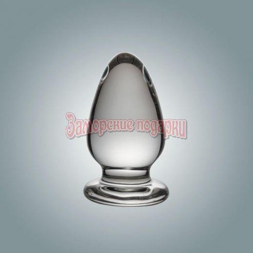 Анальная втулка из стекла - 8 см.