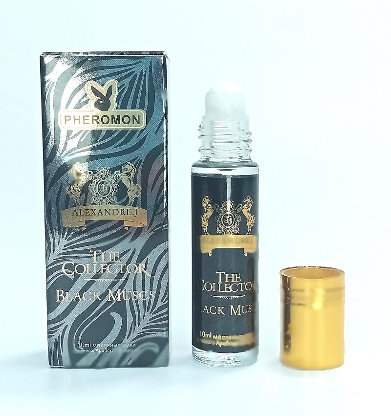 Масляные духи с феромонами Alexandre. J Black Muscs 10ml