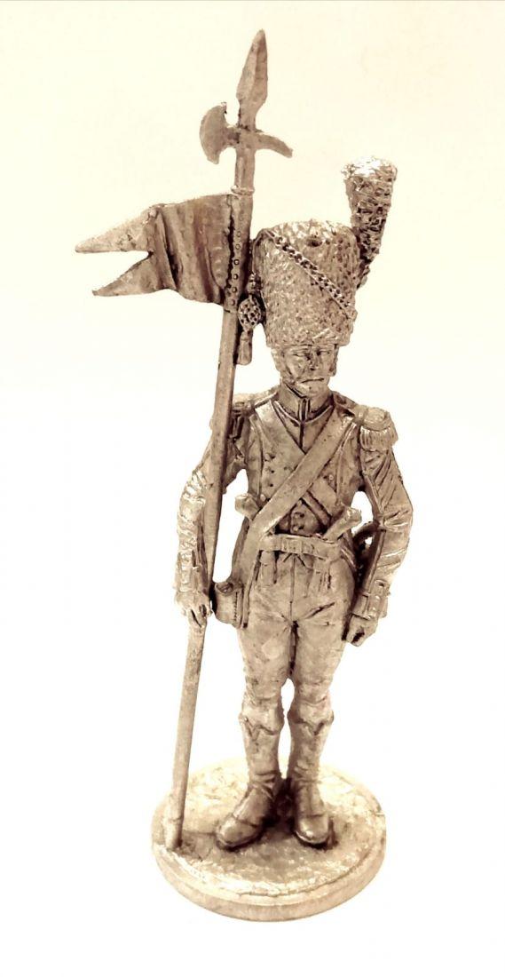 Фигурка Старший сержант - 2-й орлоносец 7-го лёгкого полка. Франция, 1809 г. олово