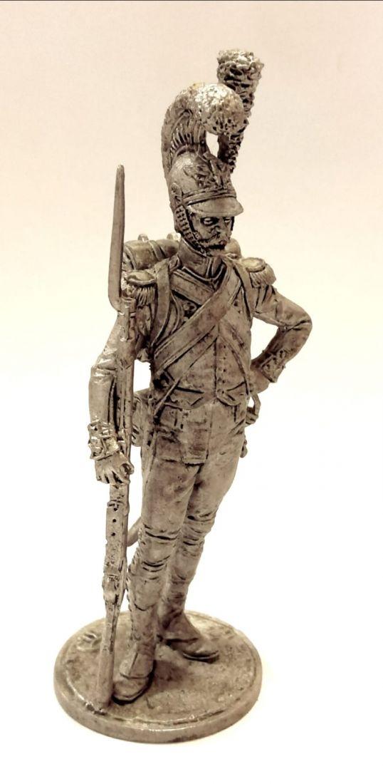 Фигурка Рядовой роты гвардейских инженеров. Франция, 1811-15 гг. олово