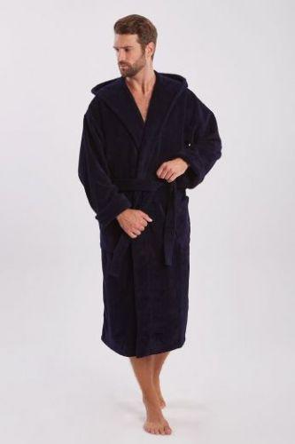 Мужской махровый халат с капюшоном Formula Sport
