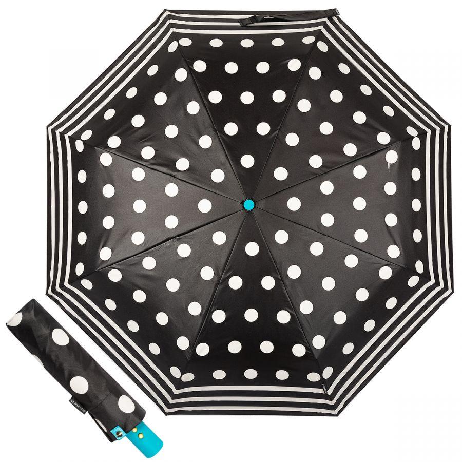 Зонт складной M&P C58215 Dots Black