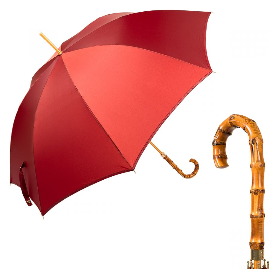 Зонт-трость M&P C192294-LM Bordo Bamboo