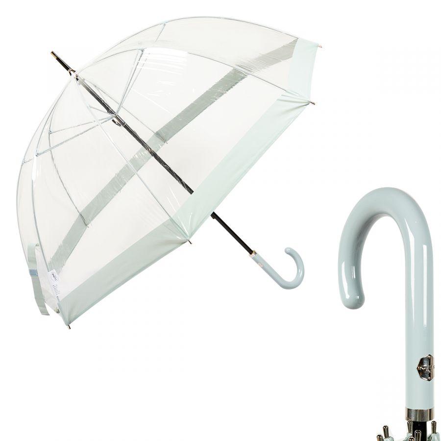 Зонт-трость M&P C4700-LM Transparent Light Blue