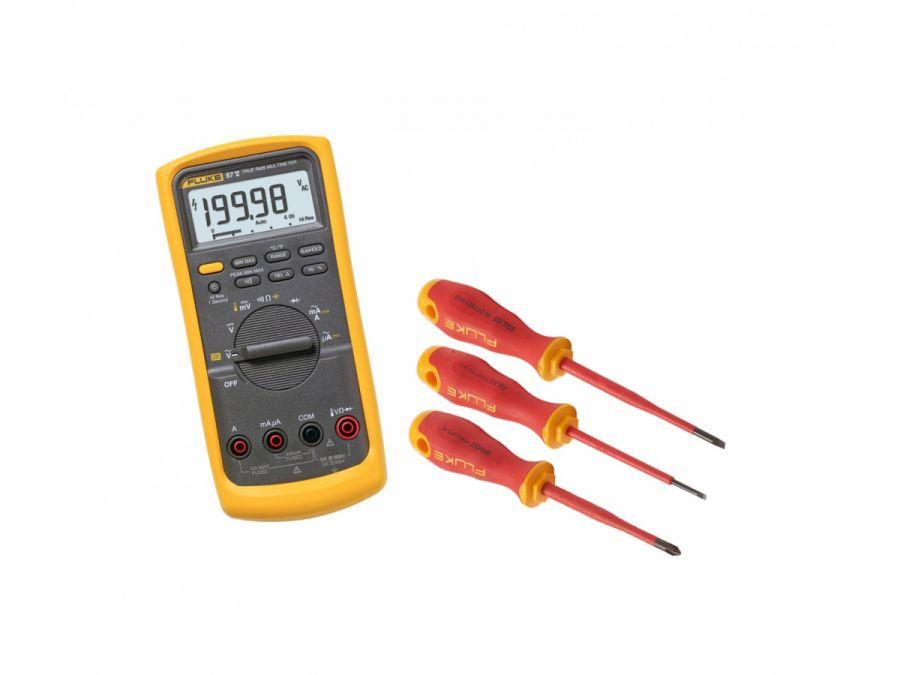 Комплект Fluke IB875KEUR - мультиметр Fluke 87V с набором инструментов