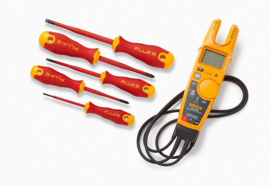 Комплект Fluke IBT6KEUR - тестер напряжения Fluke T6-1000/EU с набором инструментов