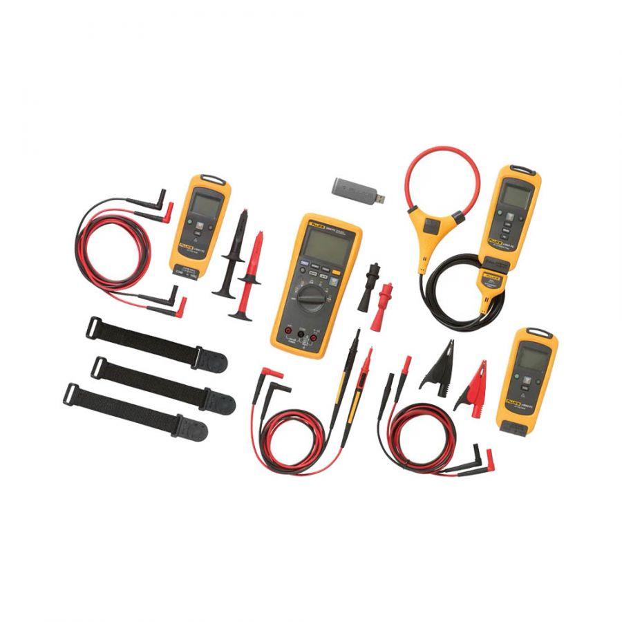 Комплект - мультиметр с вольтметром и токовыми клещами Fluke FLK-3000FC GM