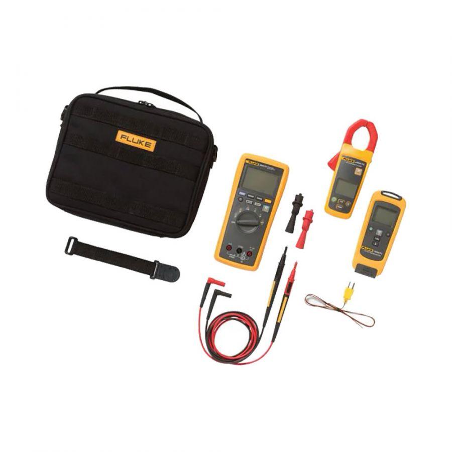 Комплект - мультиметр с токовыми клещами и цифровым термометром Fluke FLK-3000FC HVAC