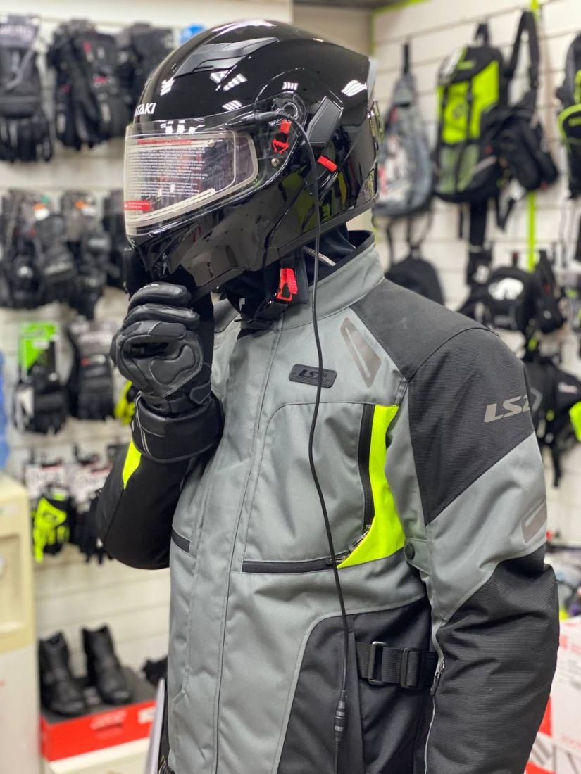 Шлем снегоходный ATAKI, стекло с электроподогревом