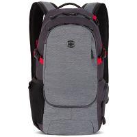 Рюкзак Swissgear, серый, 24х15,5х46 см, 15,5 л, (3598401409)