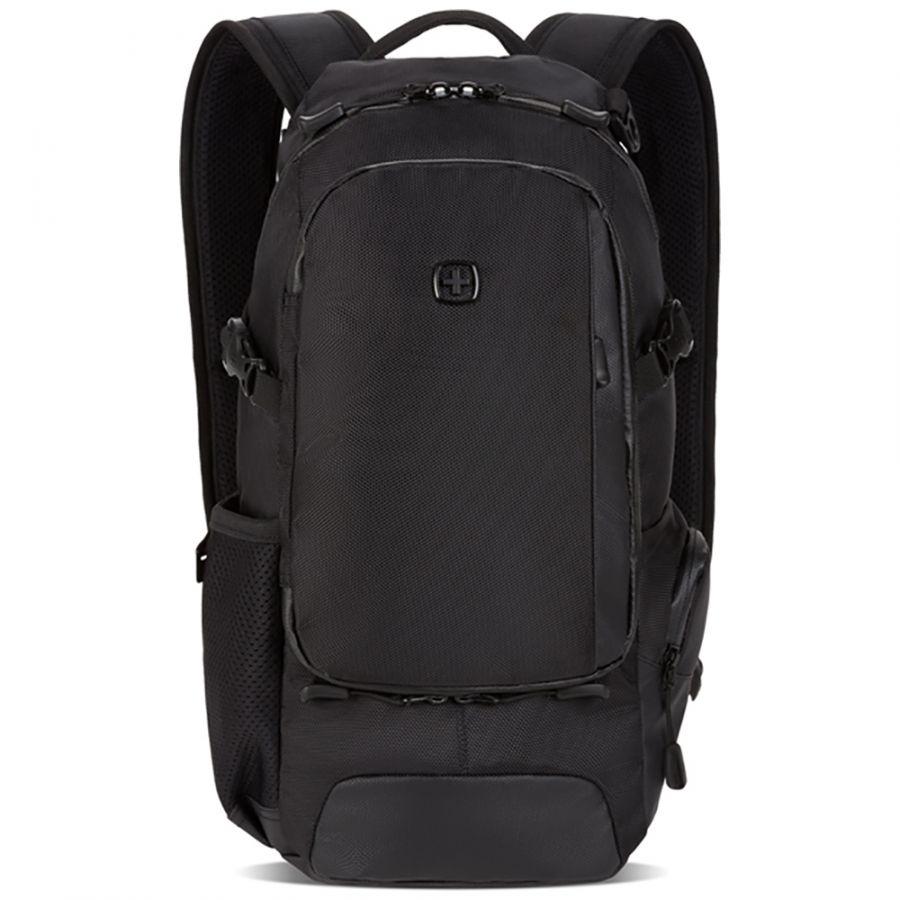 Рюкзак Swissgear, черный, 24х15,5х46 см, 15,5 л, (3598422409)
