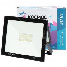 Прожектор светоидный КОСМОС 50Вт, 6500K, SuperSlim