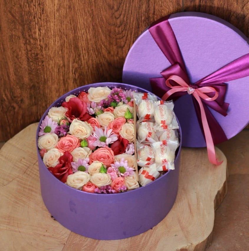 Коробка Виолетта