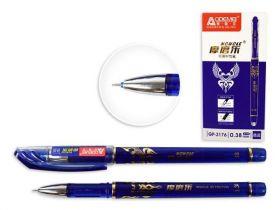 Ручка пиши-стирай, синяя гелевая 0,38мм
