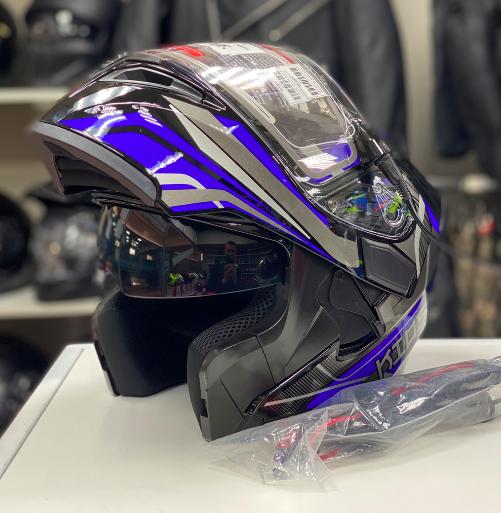 Шлем снегоходный KIOSHI, стекло с электроподогревом
