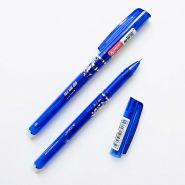 Ручка гелевая со стираемыми чернилами, синяя, 0,5 мм