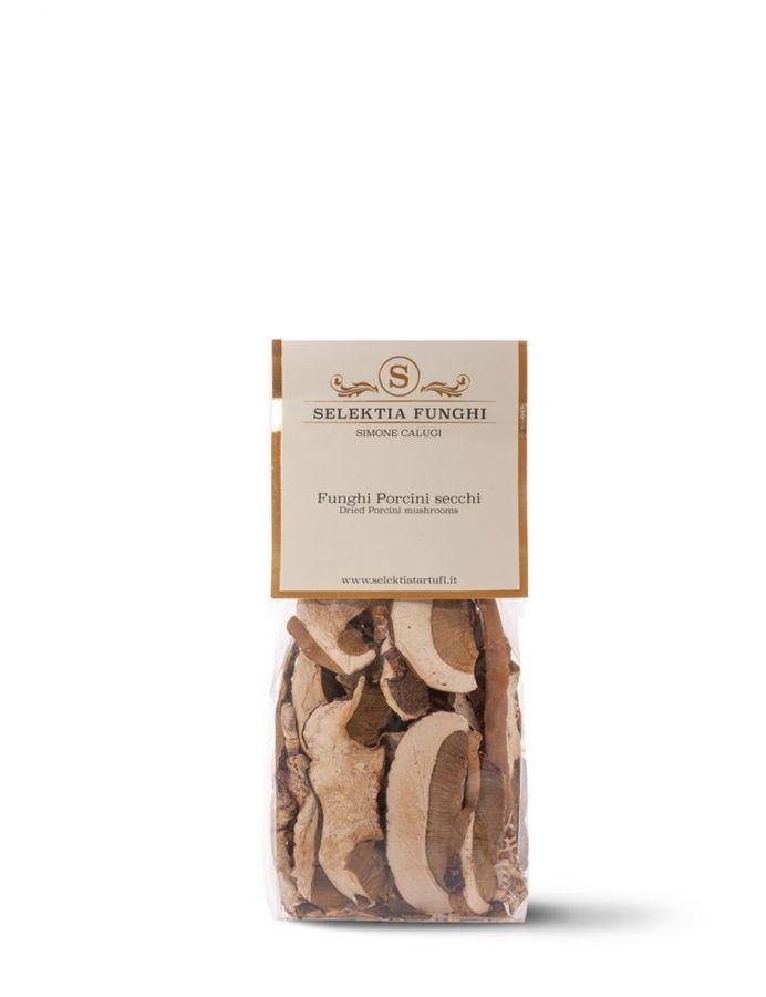 Белые грибы сушеные 20 г. Funghi porcini secchi, Selektia Tartufi 20 g