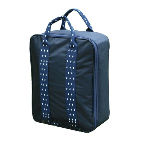 Складная дорожная сумка для путешествий с плечевым ремнём, 28х13х36 см, цвет - синий.