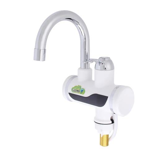 Проточный электрический водонагреватель Instant Electric Heating Water Faucet с дисплеем