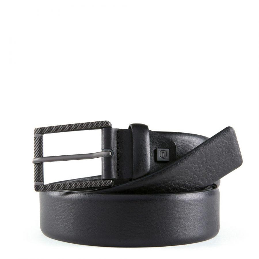 Ремень мужской кожаный Piquadro CU5618B3/N черный