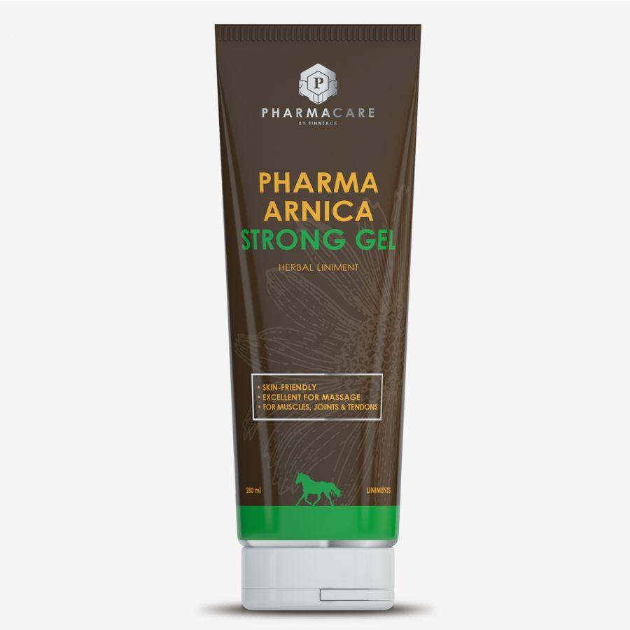 """Гель массажный """"Pharma Arnica Strong"""", С арникой, корицей и грецкими орехами. 280 мл"""
