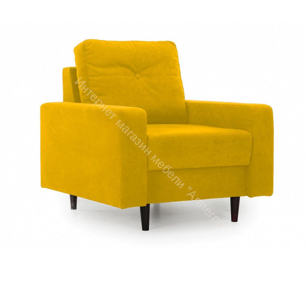 Кресло Лоретт (Galaxy 07 (велюр) желтый)