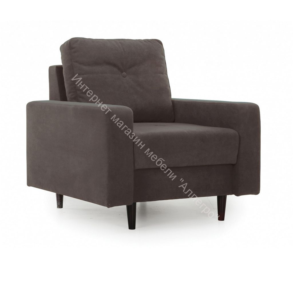 Кресло Лоретт (Galaxy 04 (велюр) коричневый)