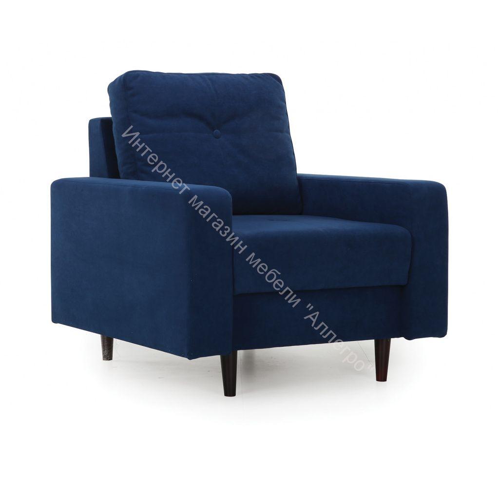Кресло Лоретт (Galaxy 14 (велюр) синий)