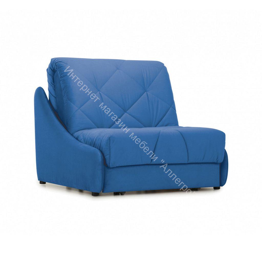 Кресло-кровать Мигель-0,8 (Velutto 45 (велюр) синий)