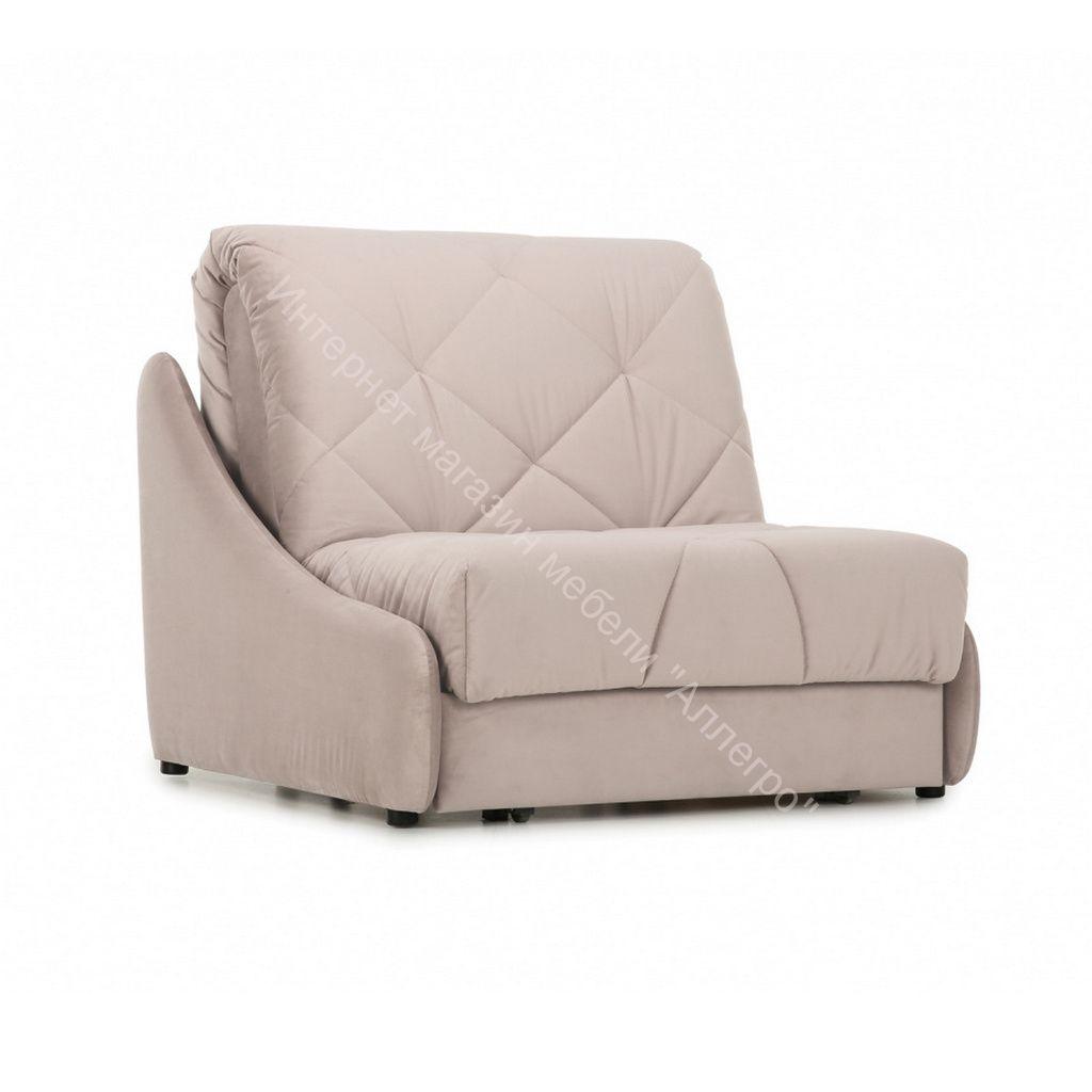 Кресло-кровать Мигель-0,8 (Velutto 04 (велюр) бежевый)