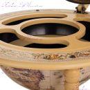 """Глобус бар напольный 45003WW17 """"Карта мира"""" сфера 45 см"""