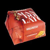 Панеттоне миндальный в подарочной упаковке 1000 г, Il Mandorlato incartato a mano Balocco 1000 g