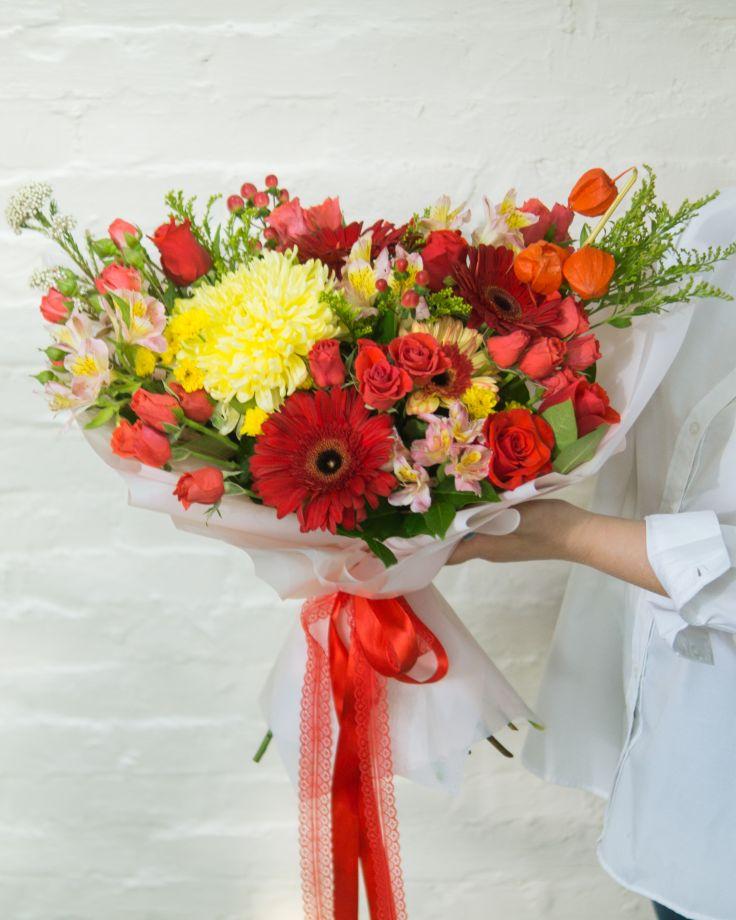 """Букет цветов """"Краски осени"""""""