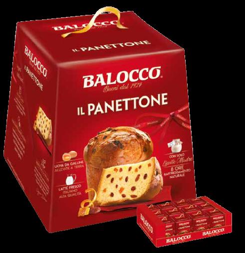 Панеттоне классический 500 г, Panettone classico Balocco 500 g