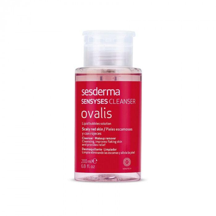 SENSYSES CLEANSER Ovalis – Лосьон липосомальный для снятия макияжа для кожи склонной к покраснению и шелушению Sesderma (Сесдерма) 200 мл