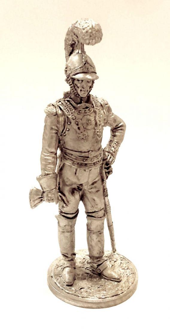 Фигурка Рядовой 1-й роты (Милан) Почётной королевской гвардии. Италия, 1811-12 гг. олово