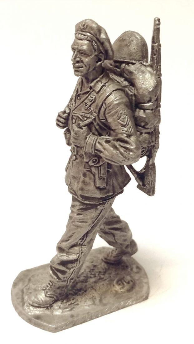 Фигурка Сержант дивизии «Сан Марко» Италия 1943-45г. Олово