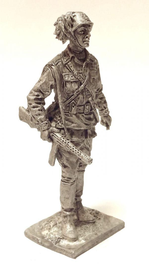 Фигурка Офицер берсальерного батальона Италия 1943-45г. Олово