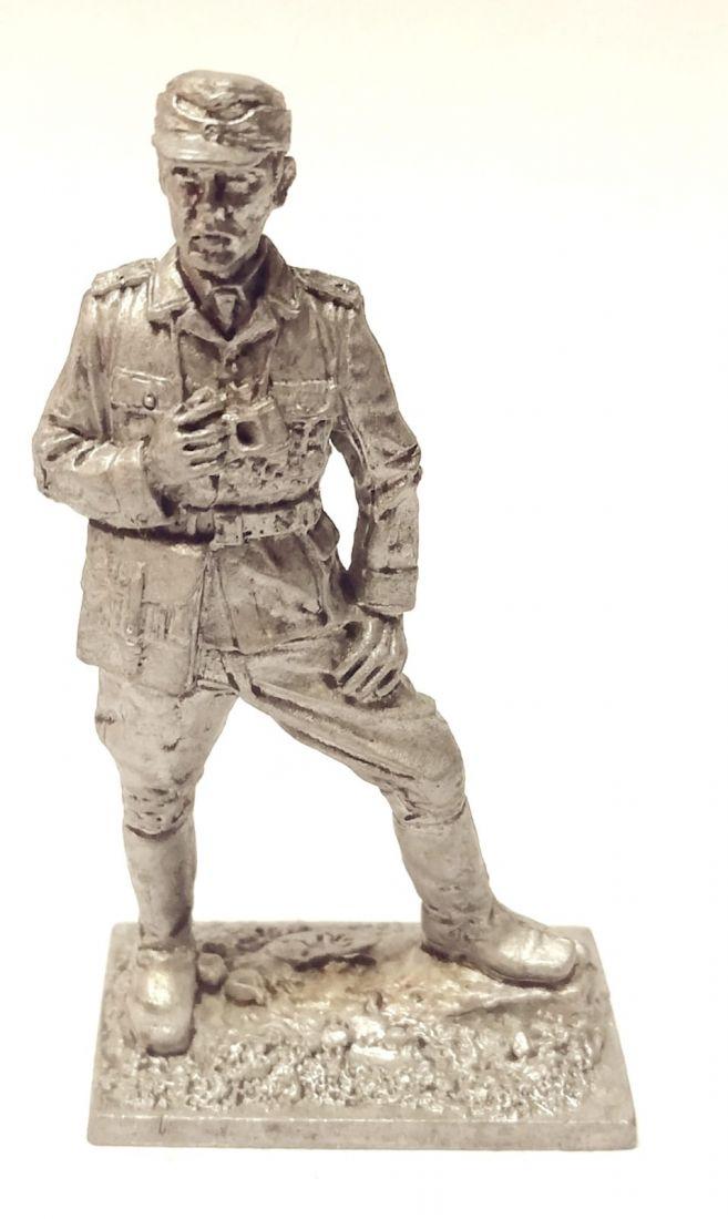 Фигурка Офицер Вермахта в Тунисе, 1943 год Олово