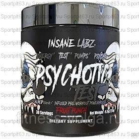Предтренировочный комплекс Insane Labz Psychotic TEST - 30 порций