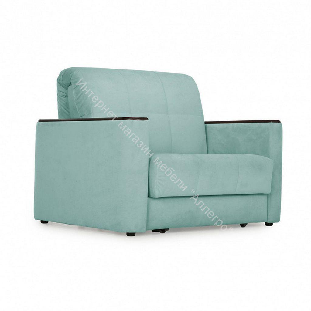 Кресло-кровать Мартин-0,8 (Velutto 14 (велюр) светло зеленый)