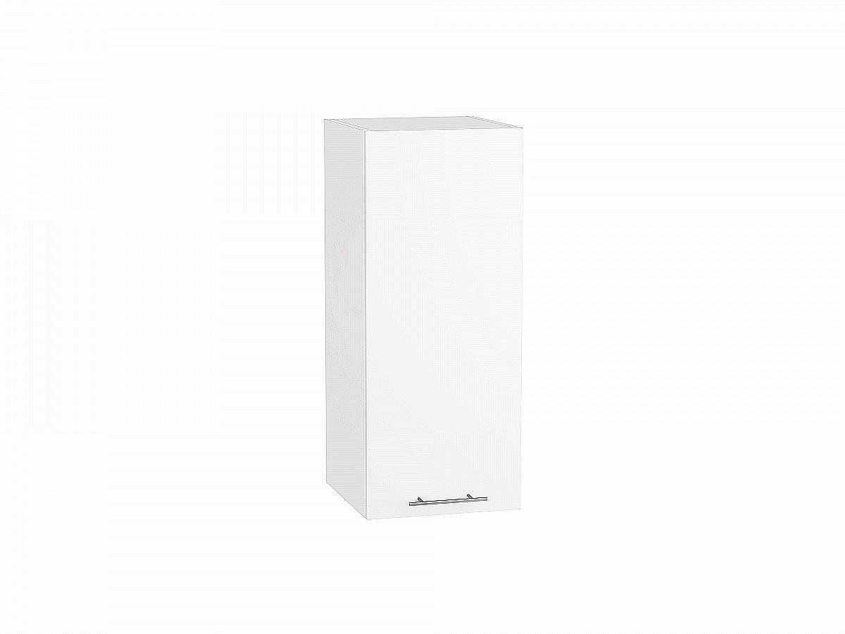 Шкаф верхний Валерия В300 белый глянец