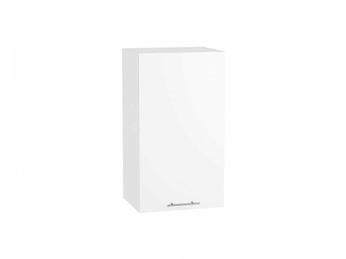 Шкаф верхний Валерия В400 белый глянец