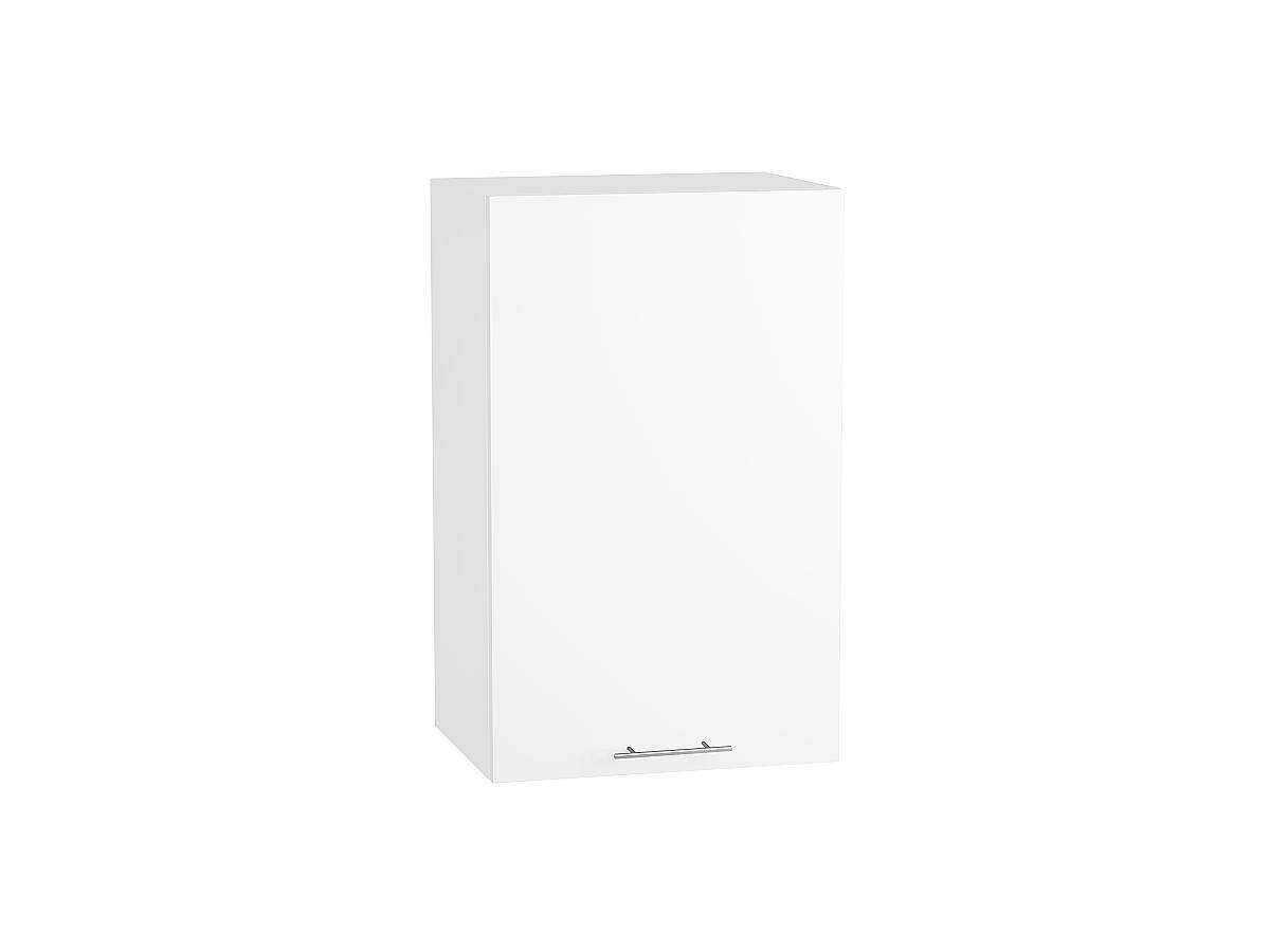 Шкаф верхний Валерия В450 белый глянец