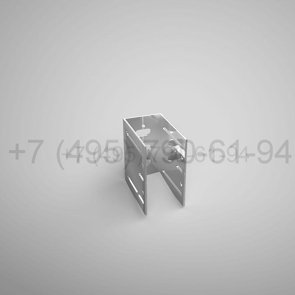 Кронштейн П , 60 мм несущий (выс.100 мм) [ КПС 254н ]