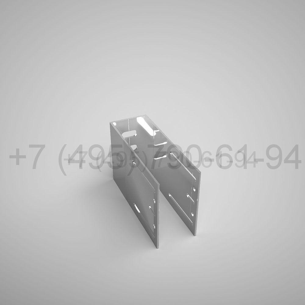 Кронштейн П , 125 мм несущий (выс.150 мм) [ КПС 255Н ]