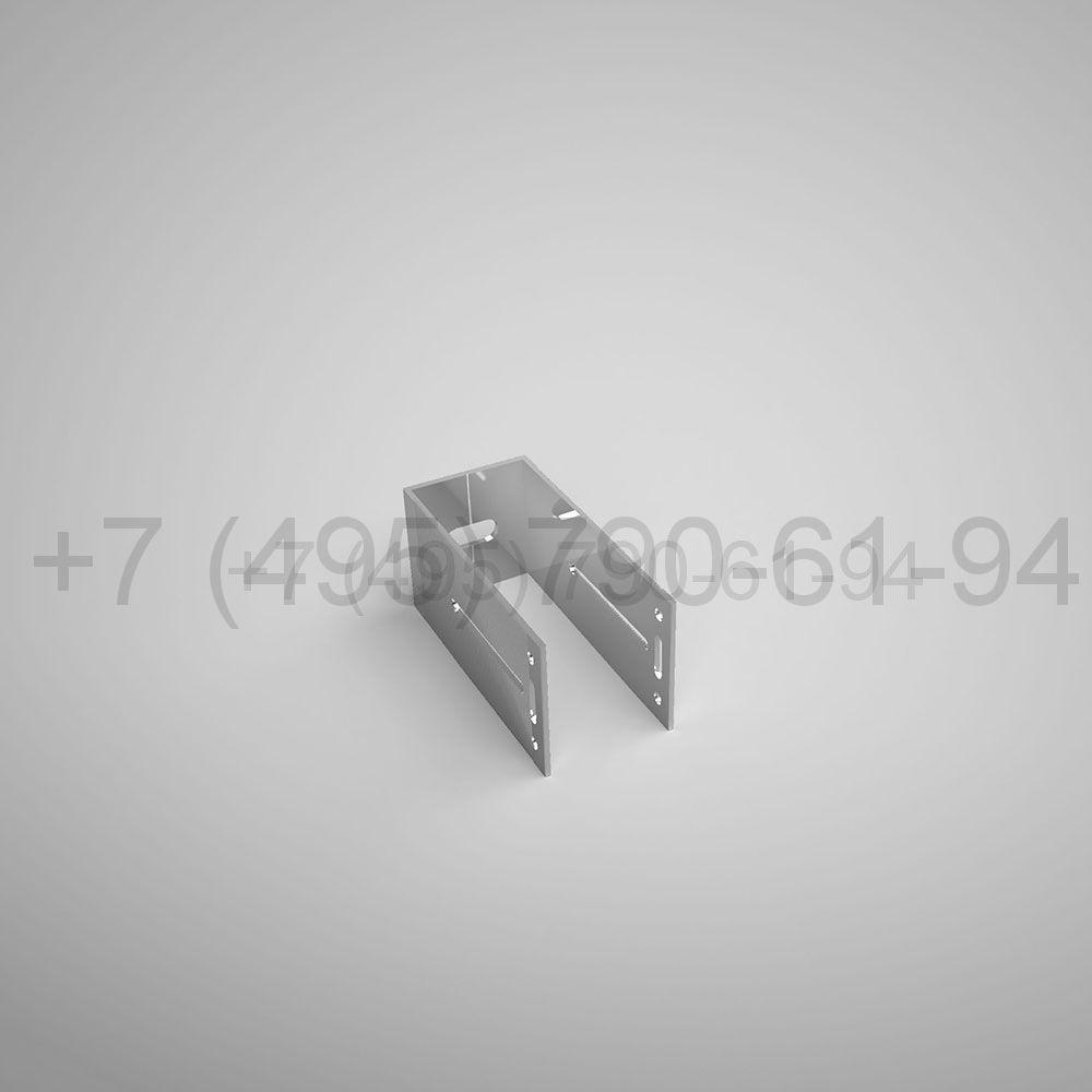 Кронштейн П , 125 мм опорный (выс.60 мм) [ КПС 255О ]