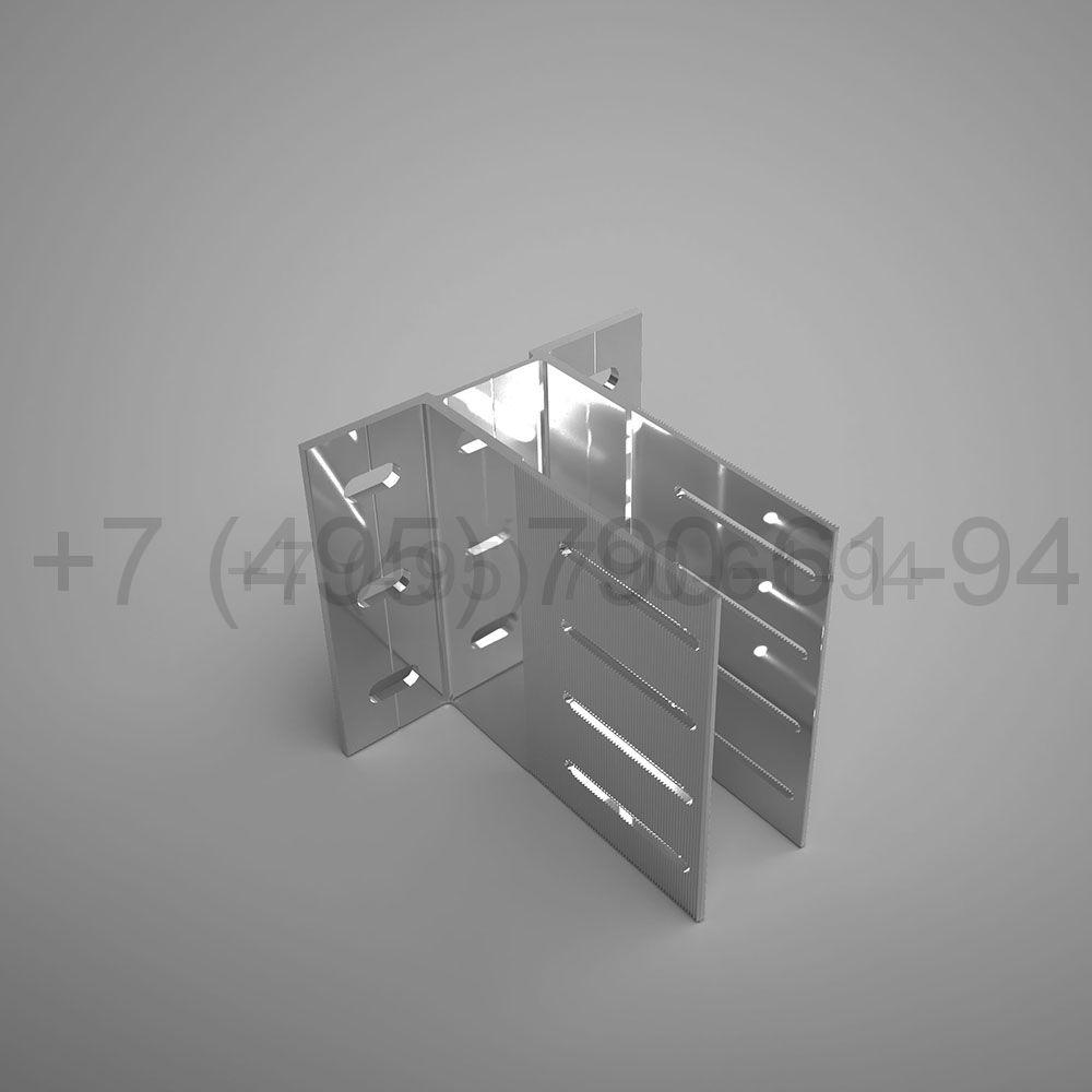 Кронштейн межэтажн. , 160 мм усиленный (выс.150 мм) [ КПС 249 ]