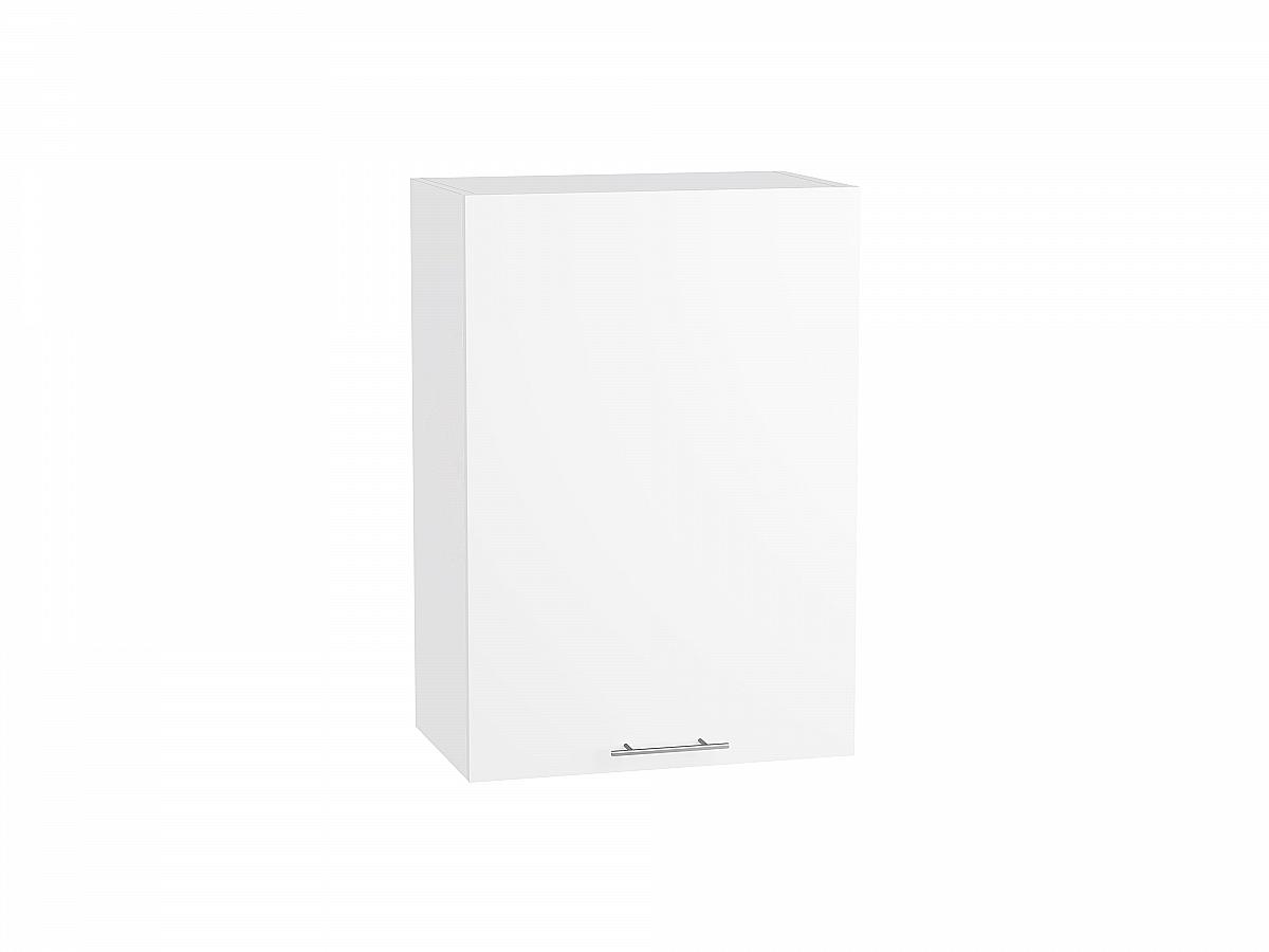 Шкаф верхний Валерия В500 белый глянец